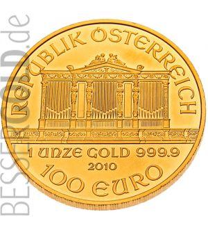 Wiener Philharmoniker 1 Unze Goldmünze 99991000 Feingold