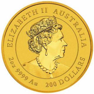 Goldmünze Lunar Serie III MAUS 2 oz Australien 2020