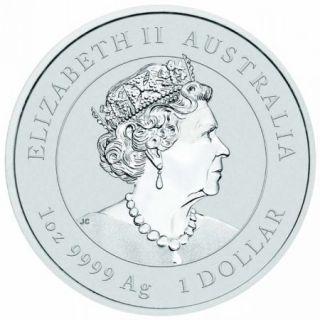 Silbermünze Lunar Serie III MAUS 1 oz Australien 2020