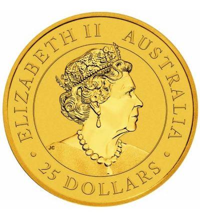 Goldmünze KANGAROO 1/4 oz Australien 2020