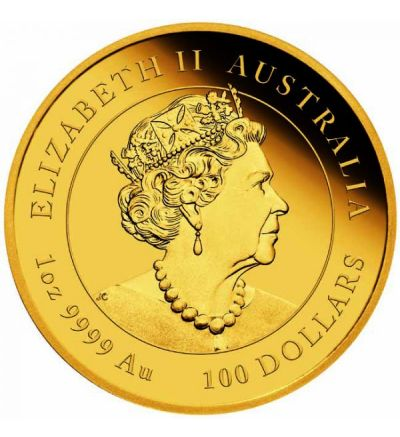 Goldmünze Lunar Serie III OCHSE 1 oz Australien 2021