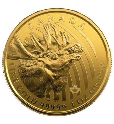 Goldmünze Call of the Wild ELCH 1 oz Kanada 2019
