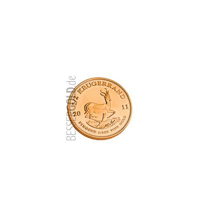 Krügerrand • 1/2 Feinunze Gold • 916,67/1000 • (Südafrika) • Springbock