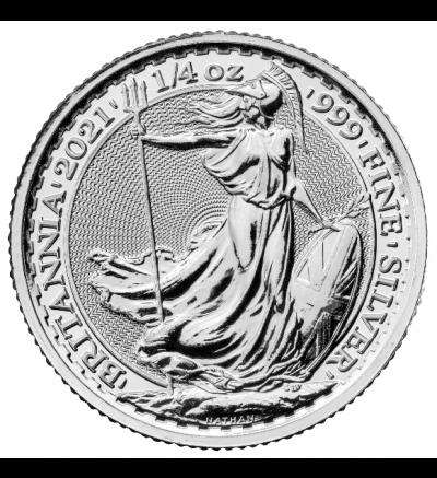 Britannia 1 oz Feinsilber (Großbritannien) 2014 - Portraitseite - 265 px