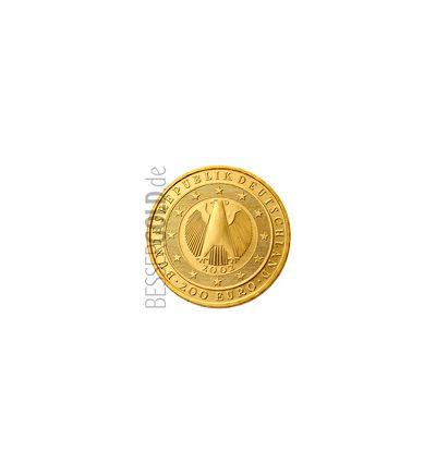 Goldmünze 200 EURO - Einführung des EURO 2002 - 1 oz  (Deutschland) - Adlerseite 135 px