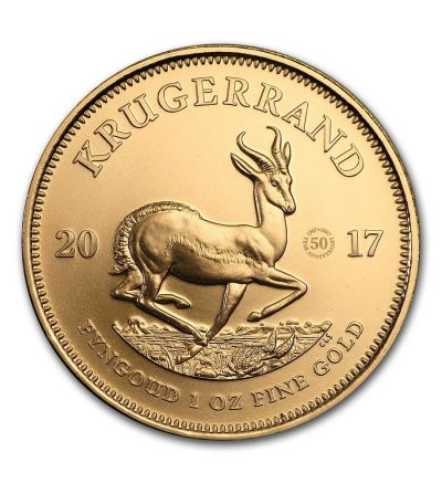 Goldmünze KRUGERRAND 50. Jubiläums 1 oz Südafrika 2017