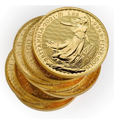 Britannia • 1 Feinunze Gold • 916,67/1000 • Portrait (Großbritannien) - 265 px