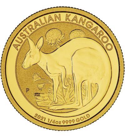 Goldmünze KANGAROO 1/4 oz Australien 2021