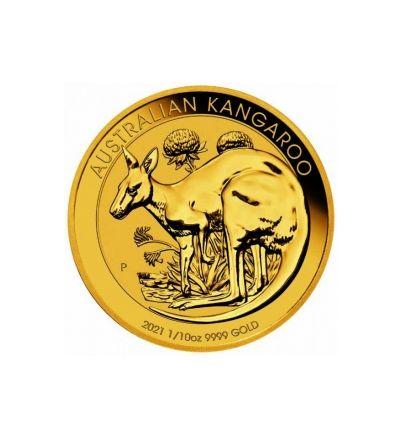 Goldmünze KANGAROO 1/10 oz Australien 2021