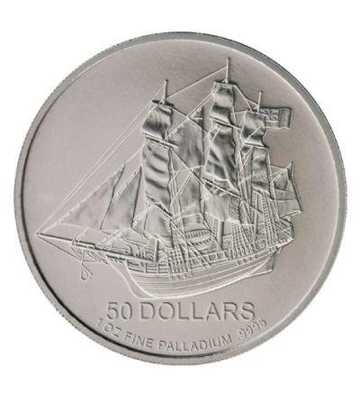 Cook Islands • 1 Unze Palladiummünze • 995/1000 Feinpalladium • Vorderseite