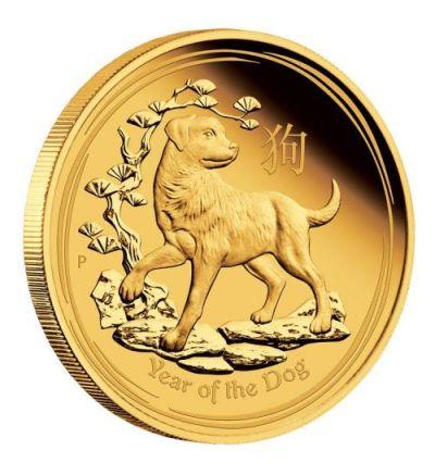 Lunar-Serie II Affe 2016 - 1/4 Feinunze Gold - Motivseite