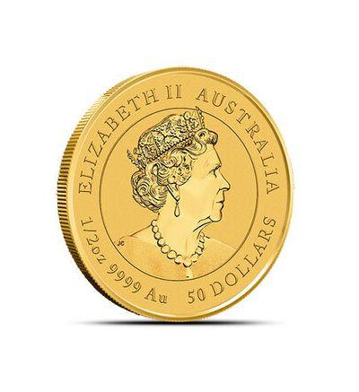 Goldmünze Lunar Serie III OCHSE 1/2 oz Australien 2021