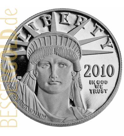 American Platinum Eagle 1 Feinunze Platin (USA) - Motivseite