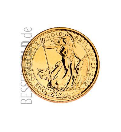 Britannia • 1 Feinunze Gold • 916,67/1000 • Britannia (Großbritannien)