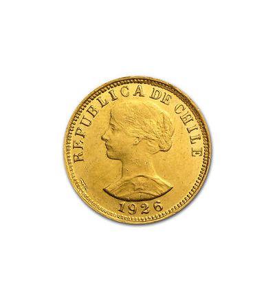 Goldmünze 100 Pesos Chile