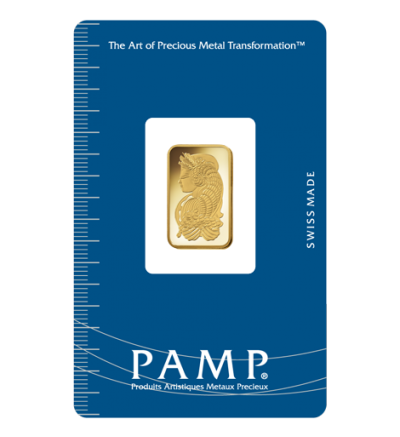 Goldbarren 50 g PAMP Fortuna