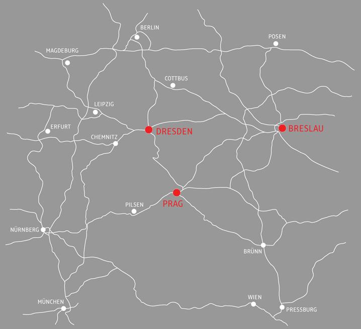 Standorte der Bessergold GmbH